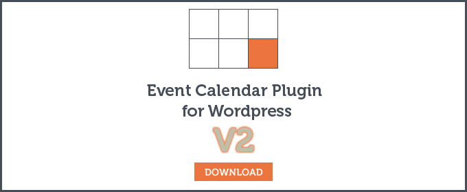 Wordpress Event calendar download