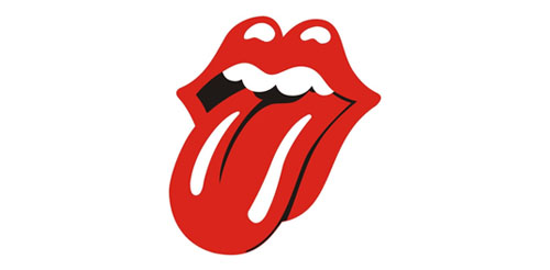 The Rolling Stones website which is one of the many WordPress sites